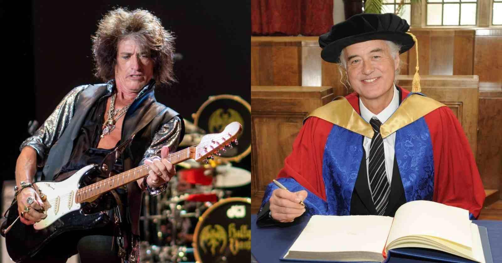 Joe Perry Jimmy Page