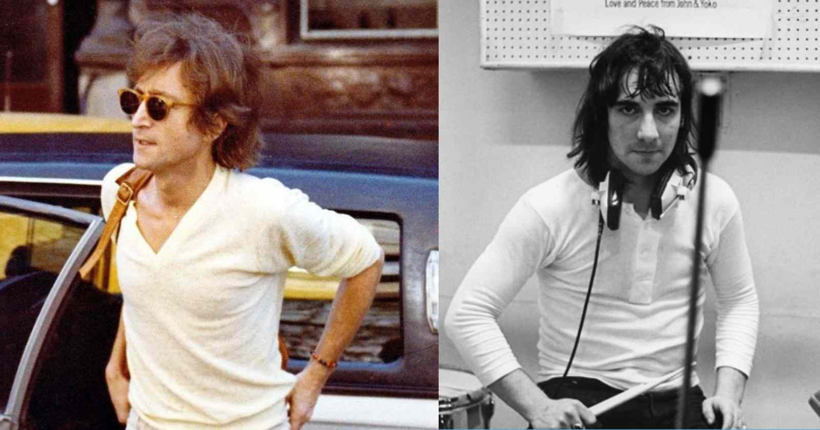 John Lennon Keith Moon