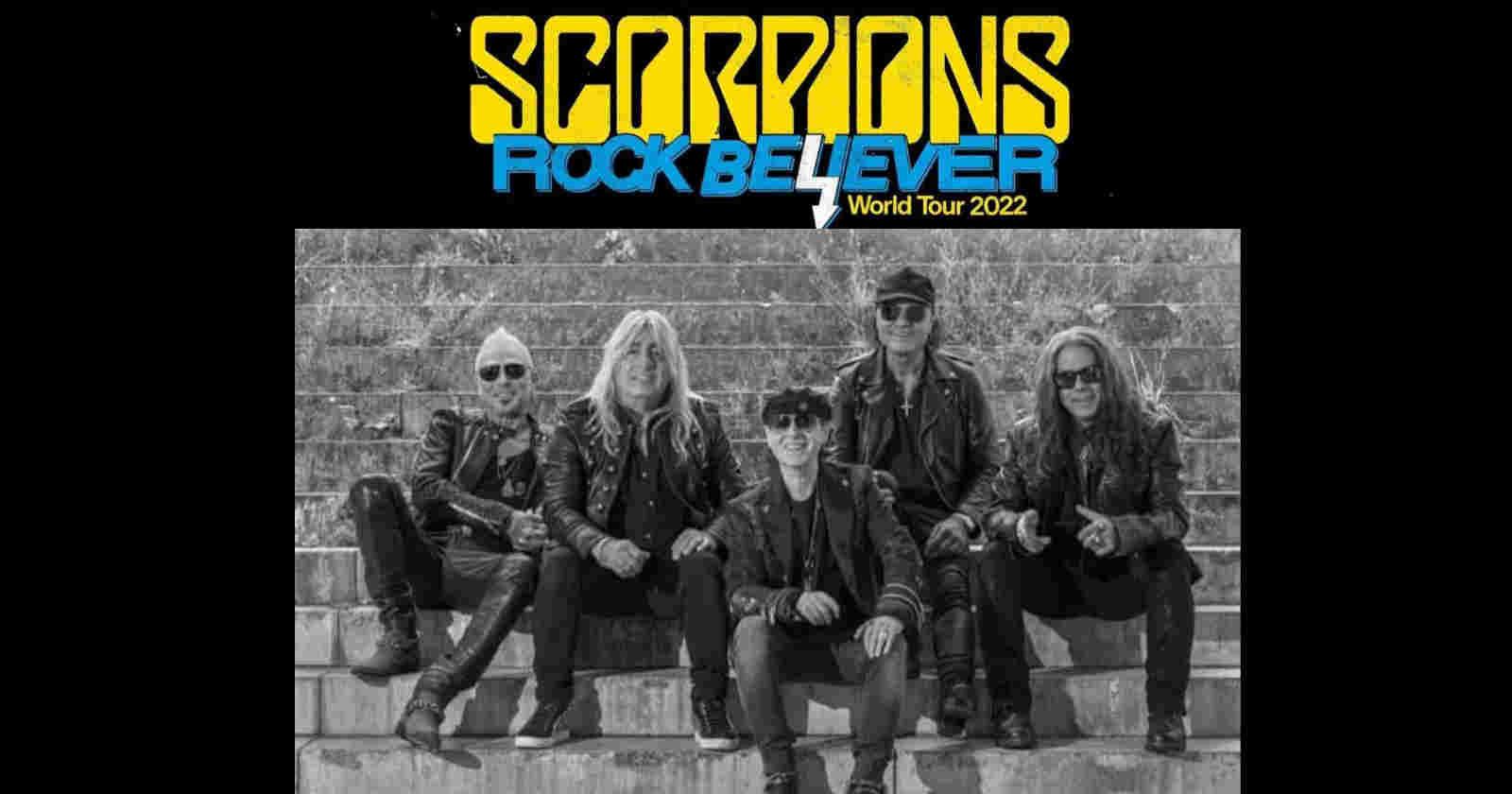Scorpions Rock Believer