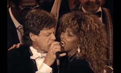 Mick Jagger and Tina Turner hall of fame