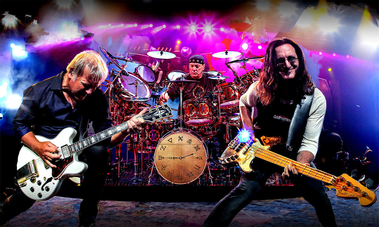 Hear Neil Peart's isolated drum track in The Spirit Of Radio