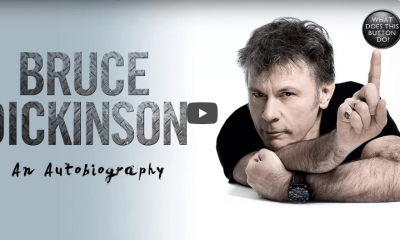 Watch Bruce Dickinson promo video for his upcoming auto-biography