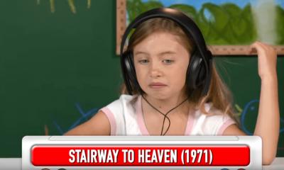 Watch kids reacting to Led Zeppelin songs