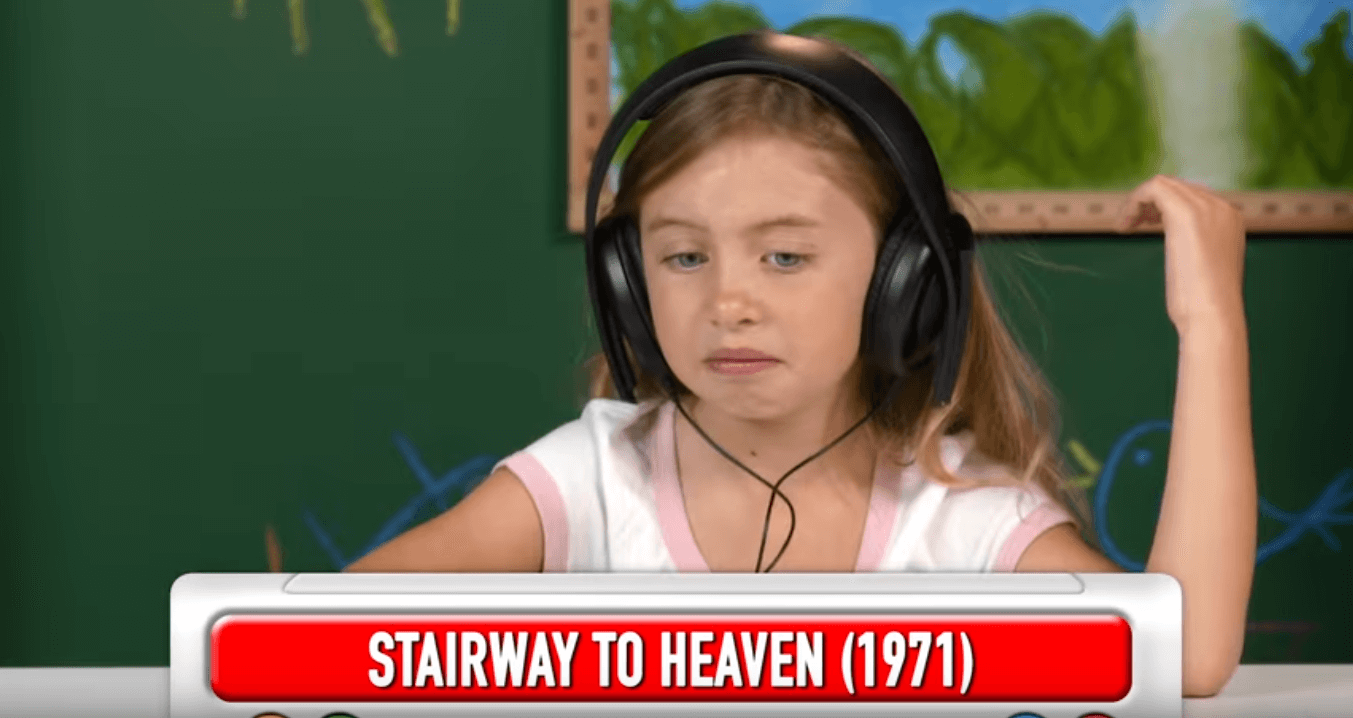Watch kids reacting to Led Zeppelin songs