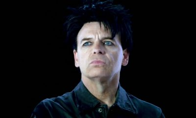 Watch video for new Gary Numan song When The World Comes Apart