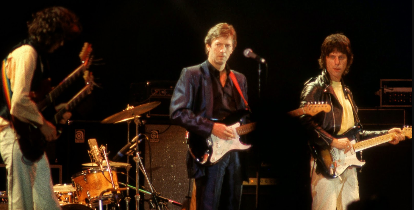 Eric Clapton, Jeff Beck and Jimmy Page