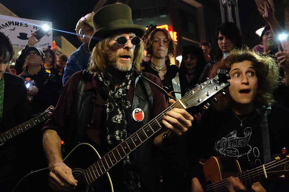 Fans organized a vampire walk to celebrate Tom Petty's birthday