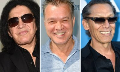 Gene Simmons and Van Halen