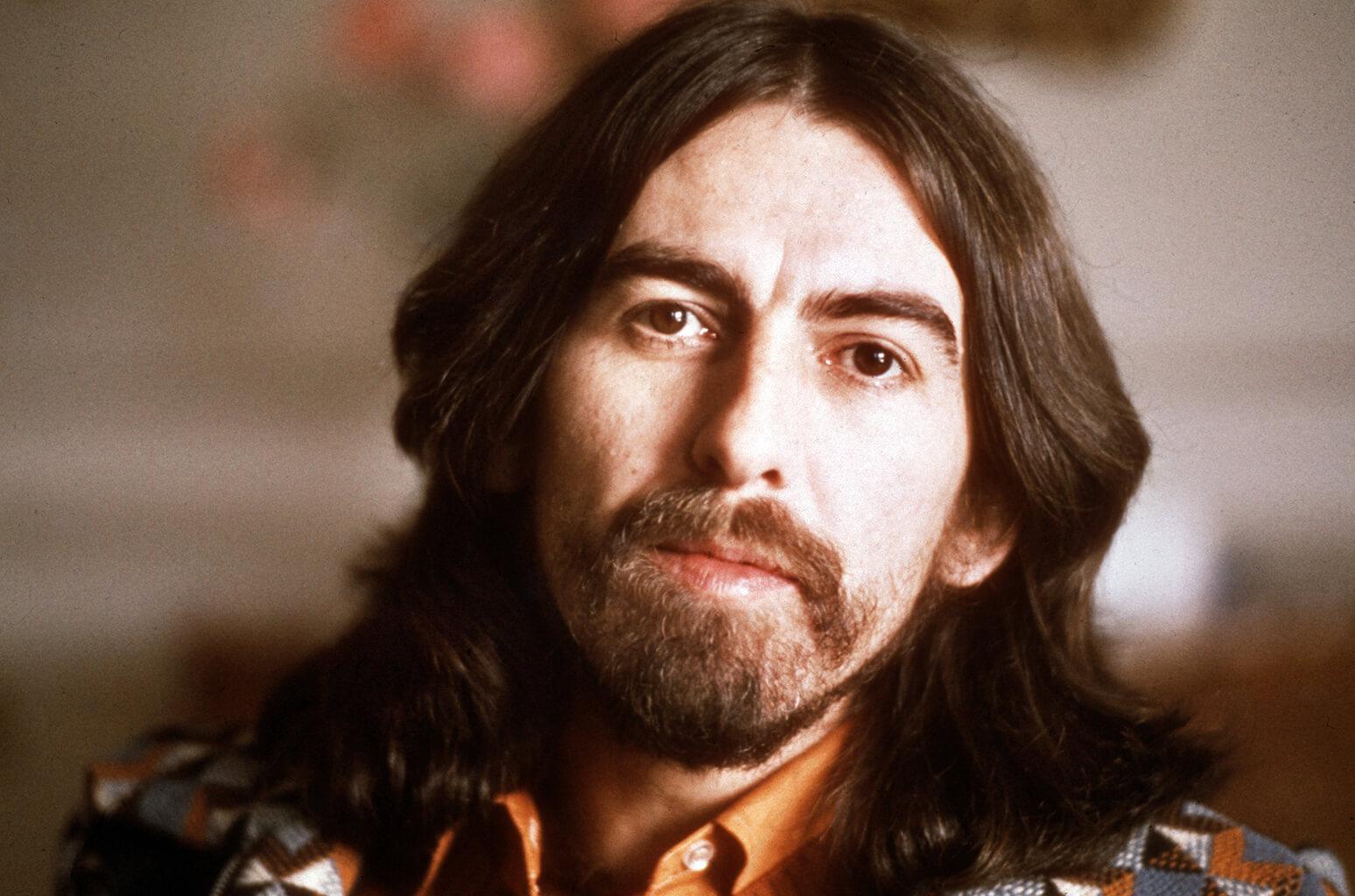 George Harrison beard