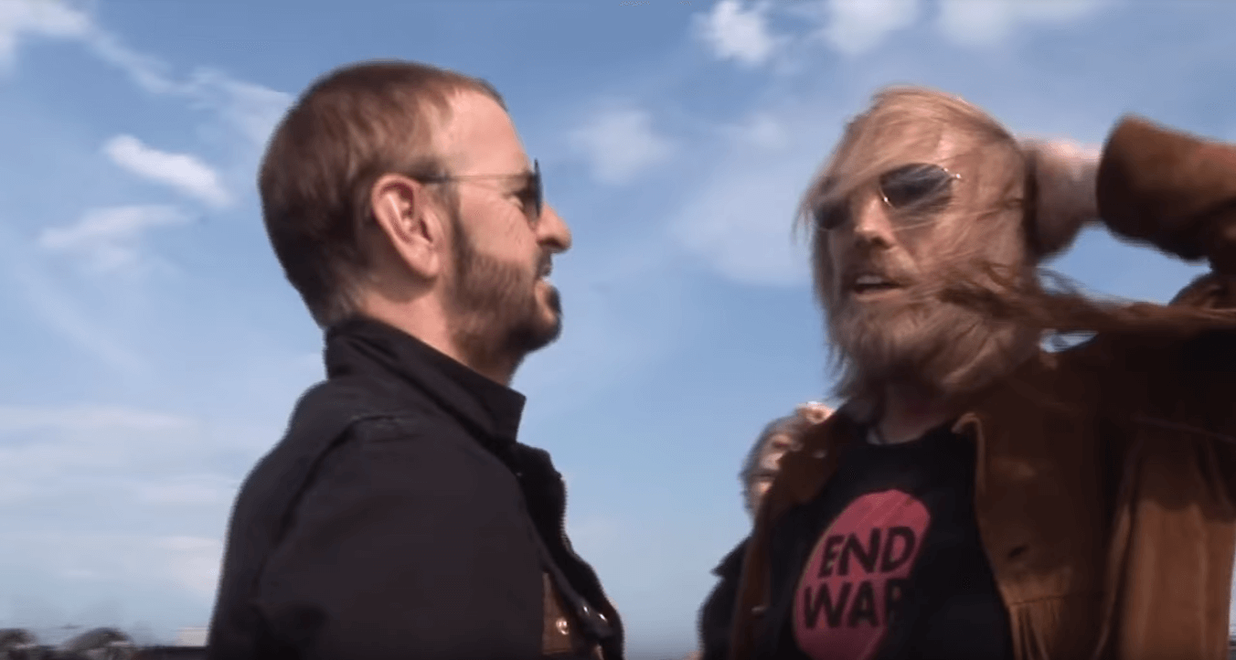 In interview Ringo Starr talks about Tom Petty's death