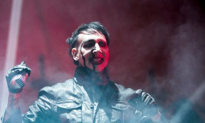 Manson reveals he broke his leg in two places and the reschedules dates