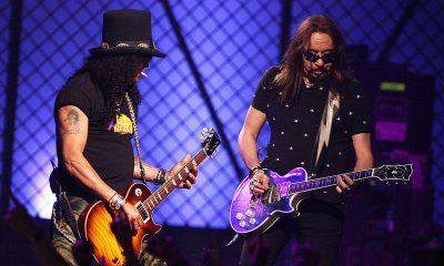 Slash and Ace Frehley