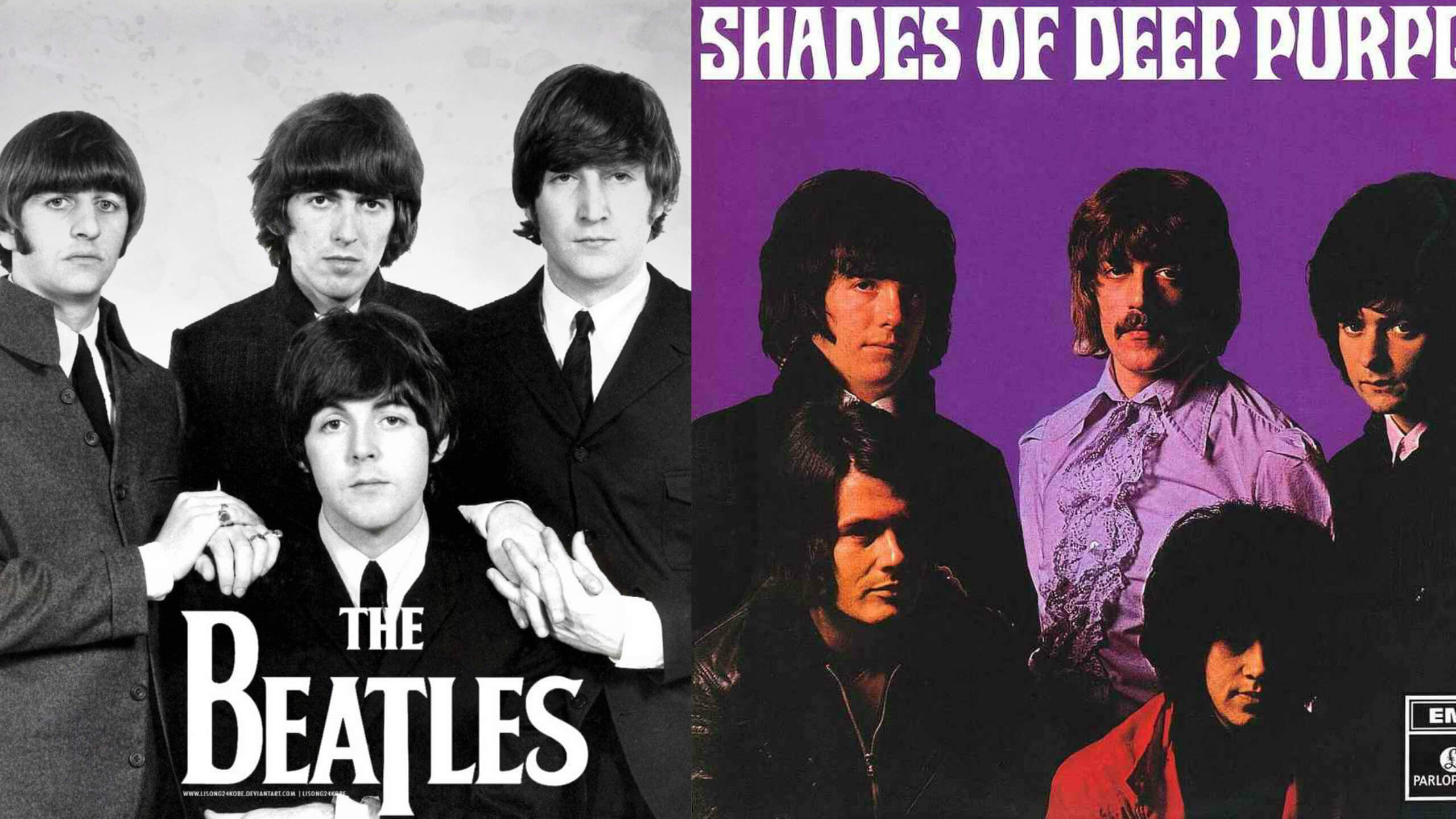 The Beatles are the biggest band of the history of rock and roll, that is indisputable, their influence on this genre is something out of this world. A great example of their importance is the number of great bands they have influenced.And many of those bands paid tribute to them and Deep Purple was on that list.