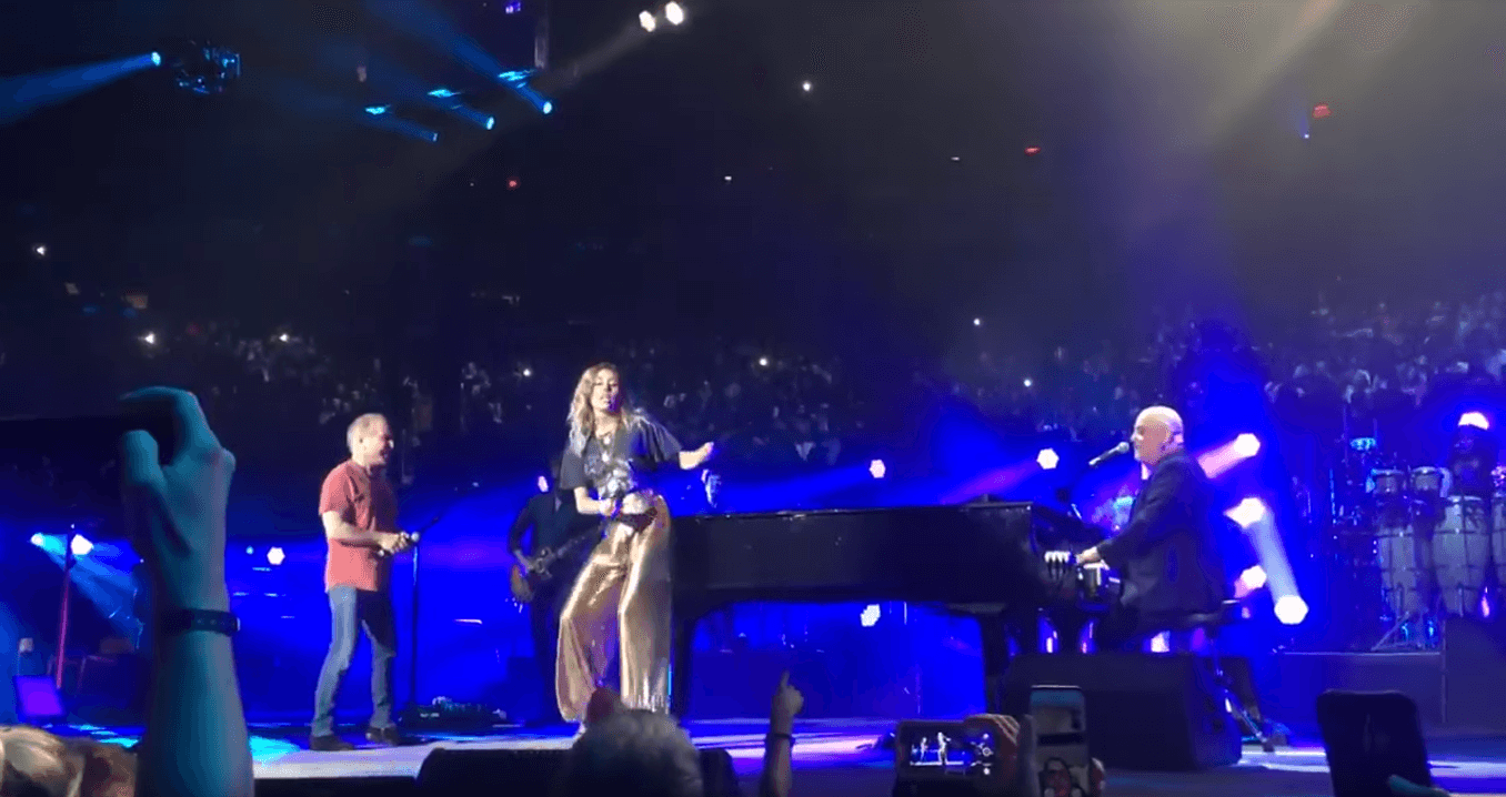 Watch Billy Joel, Paul Simon & Miley Cyrus performing You May Be Right