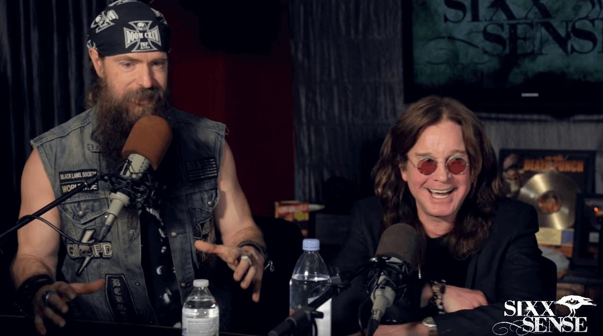 Zakk Wylde and Ozzy Osbourne