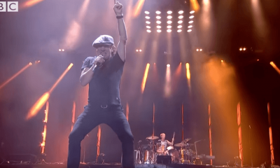 Brian Johnson with Muse