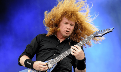 Dave Mustaine hair