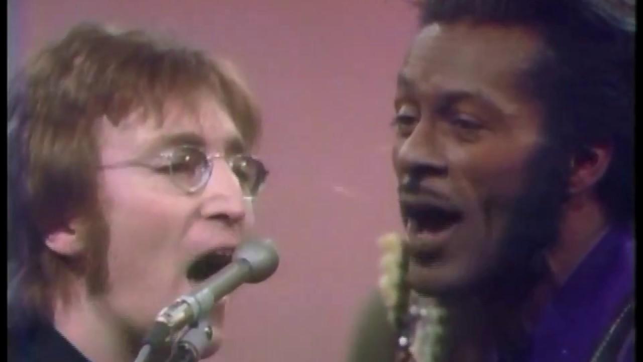 John Lennon and Chuck Berry