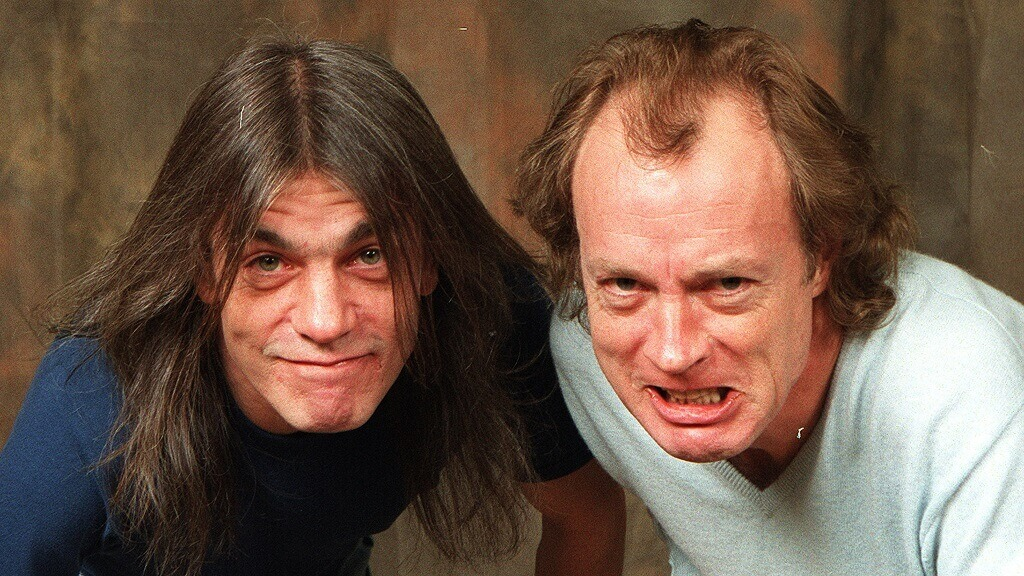 Malcolm Young and Angus Young