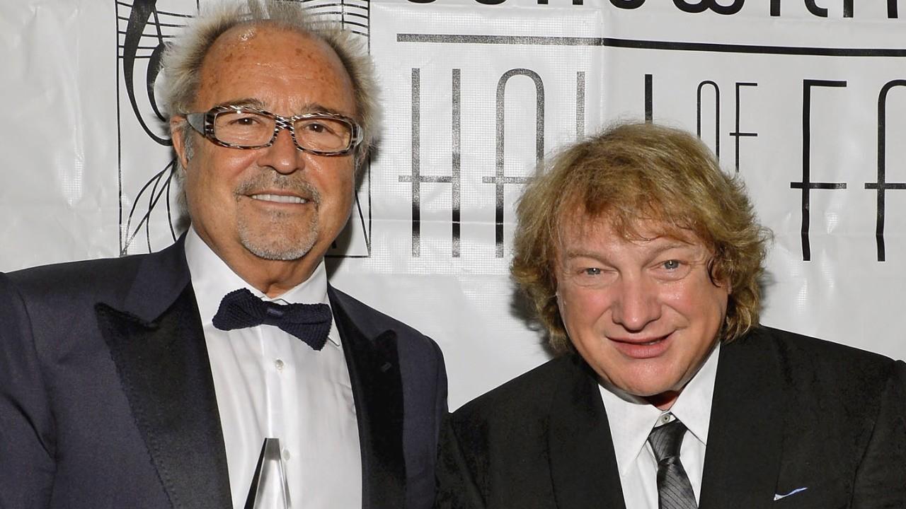 Mick Jones and Lou Gramm