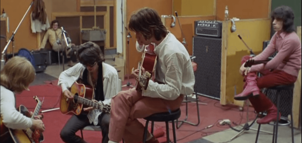 Rolling Stones making Sympathy For The Devil