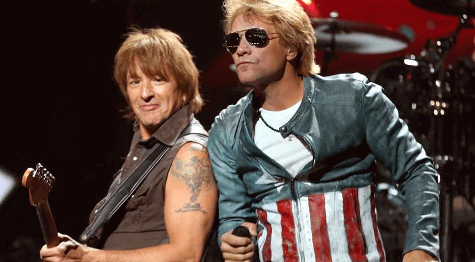 Bon Jovi and Richie Sambora