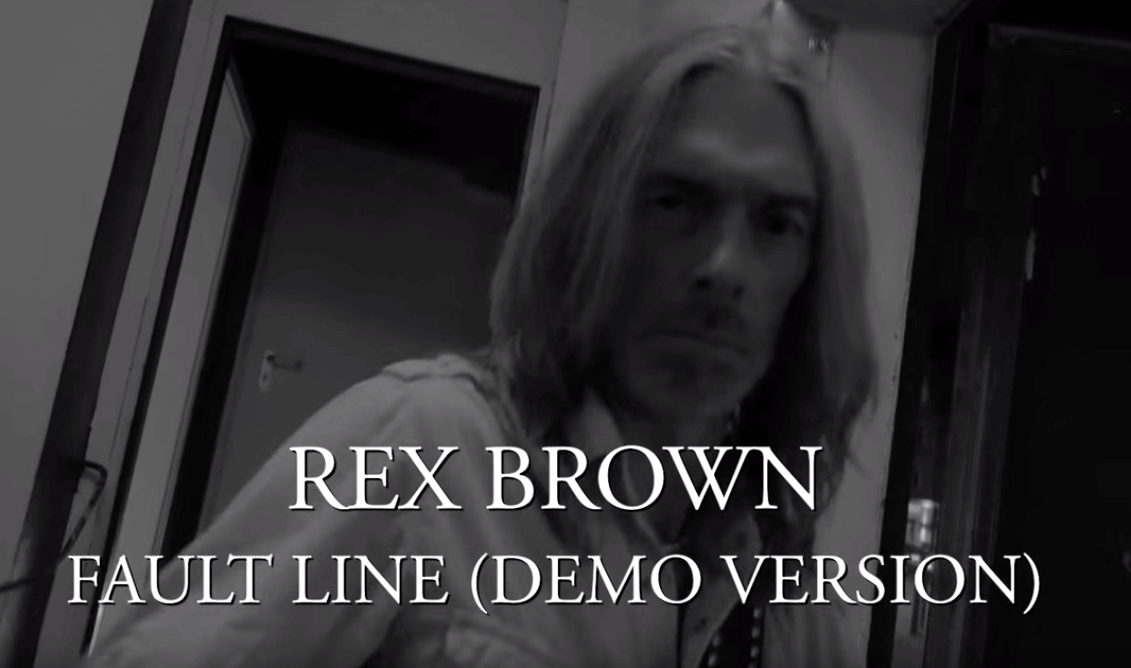 """Watch former Pantera's bassist Rex Brown new video for """"Fault Line"""""""