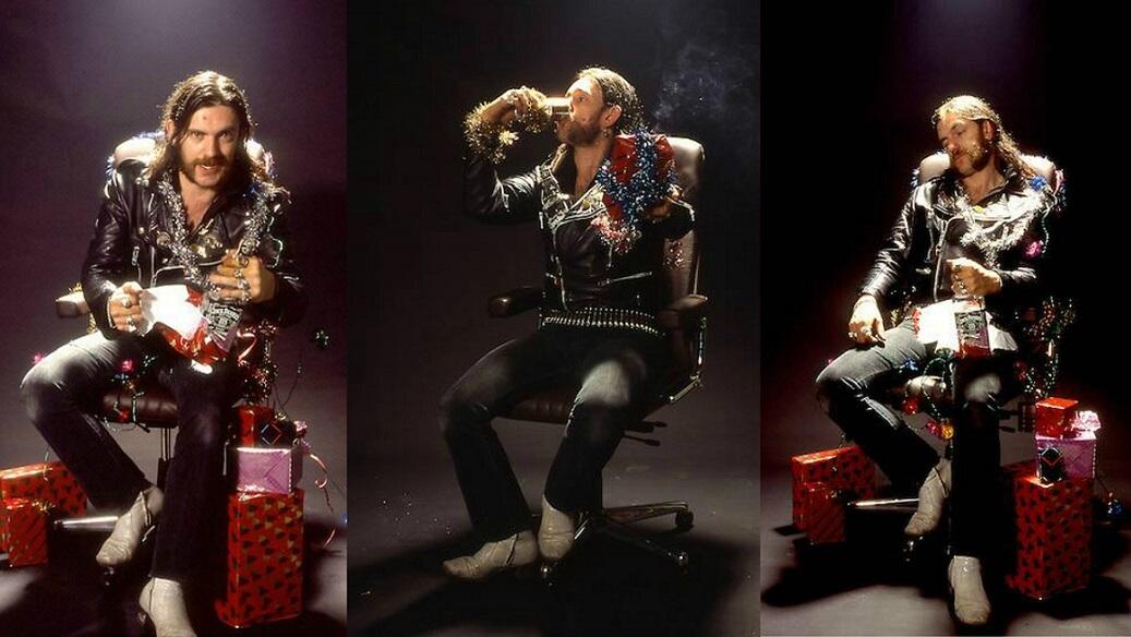 Hear Lemmy Kilmister's version for Chuck Berry's Run Run Rudolph