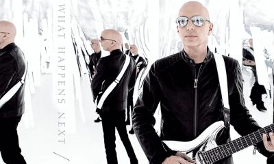 Hear new Joe Satriani's song What Happens Next