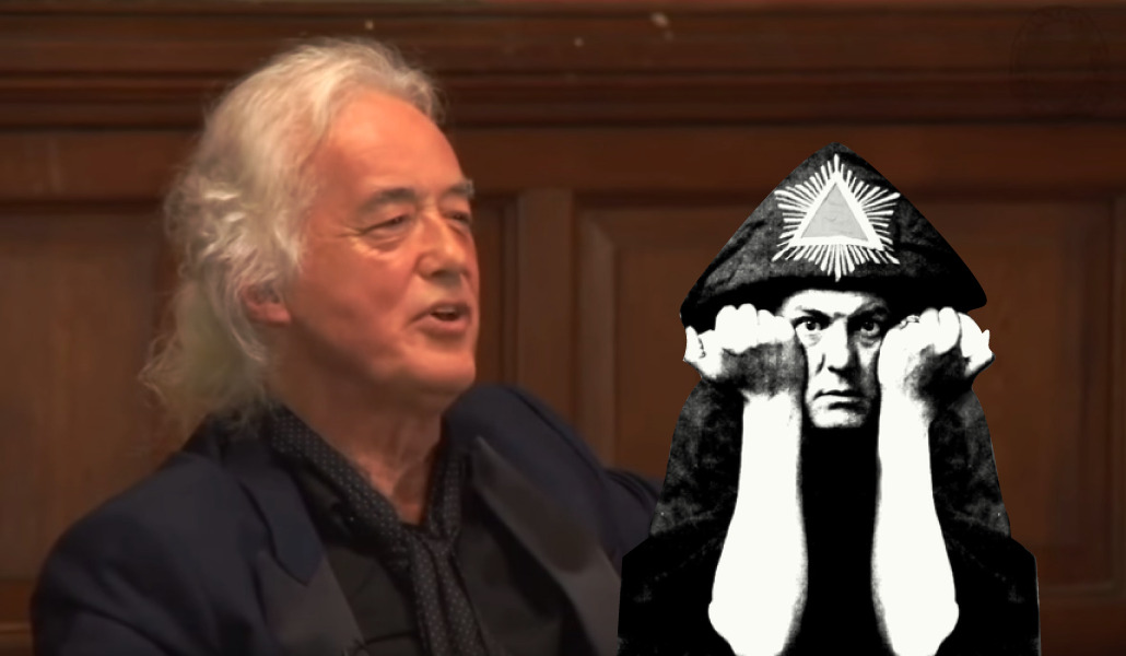 Jimmy Page talks about the occult