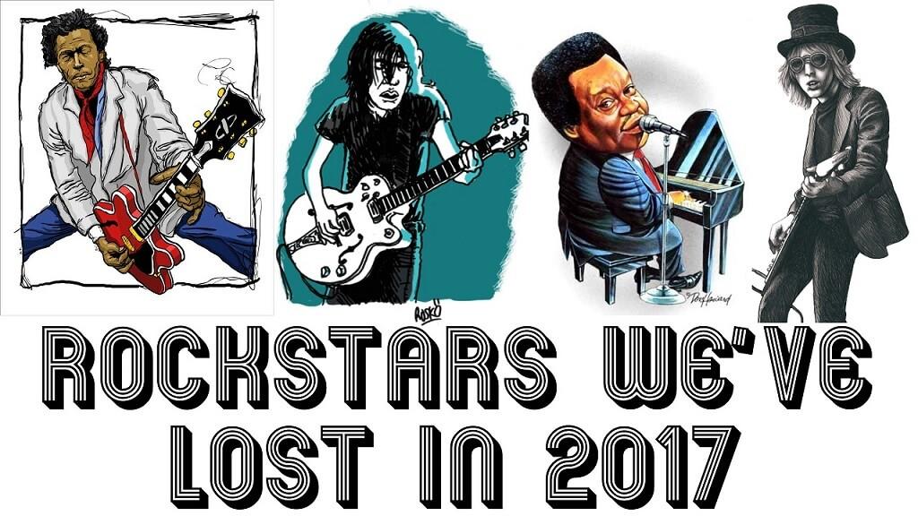 Rockstars we've lost in 2017