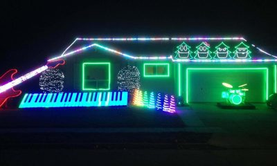 The best rock n' roll and heavy metal Christmas decorations