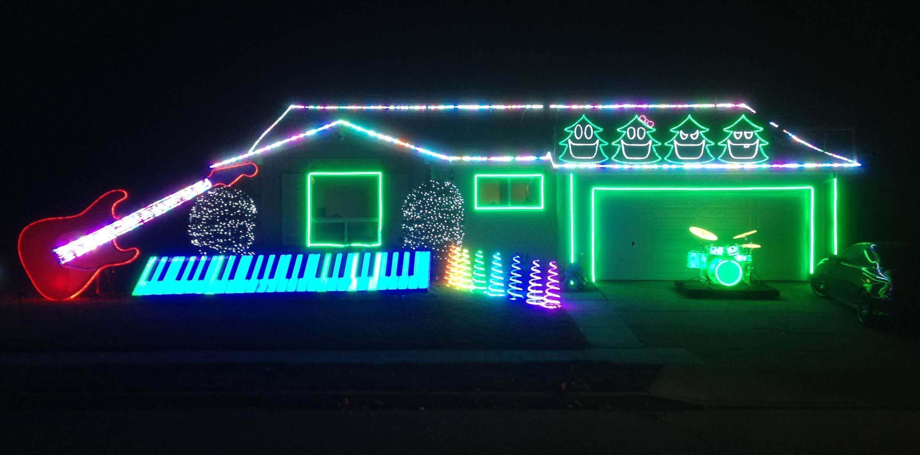 The best rock n 39 roll and heavy metal christmas decorations for Best house music ever list