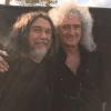 Tom Araya and Brian May