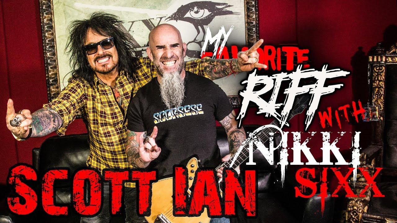 Watch Scott Ian on Nikki Sixx's My Favorite Riff