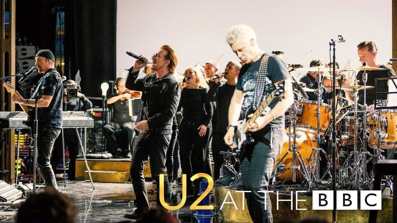 """Watch U2 performing their classic """"All I Want is You"""" live on BBC"""