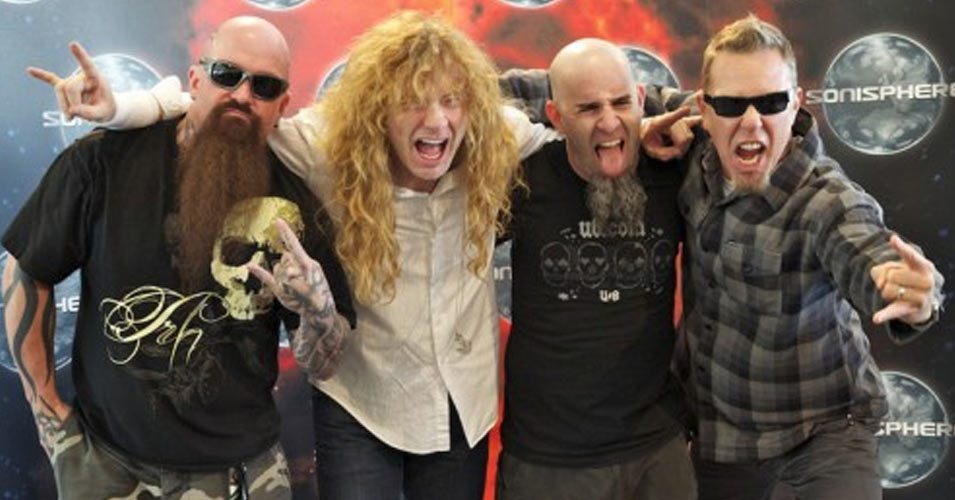 Anthrax, Metallica, Slayer and Megadeth