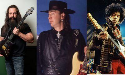 John Petrucci, Stevie Ray Vaughan, Jimi Hendrix