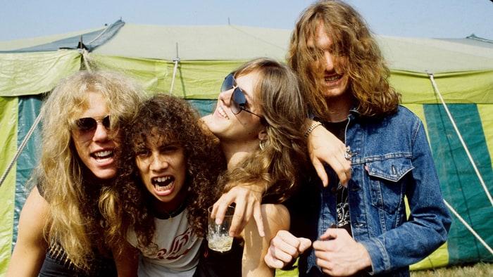 Metallica in the 80's