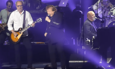Mick Jones, Lou Gramm and Billy Joel