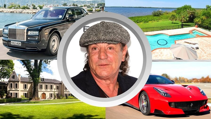 See Brian Johnson's net worth, lifestyle, family, biography, house and cars