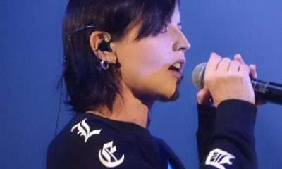See how was Dolores O'Riordan's last show with Cranberries
