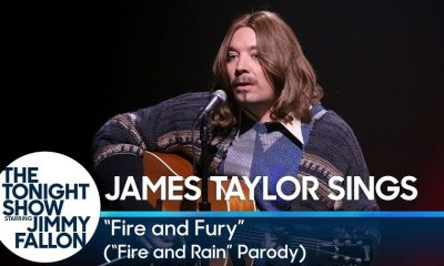 Watch Jimmy Fallon making a James Taylor parody inspired in Trump administration