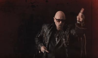 Watch Judas Priest's official video for Lightning Strike