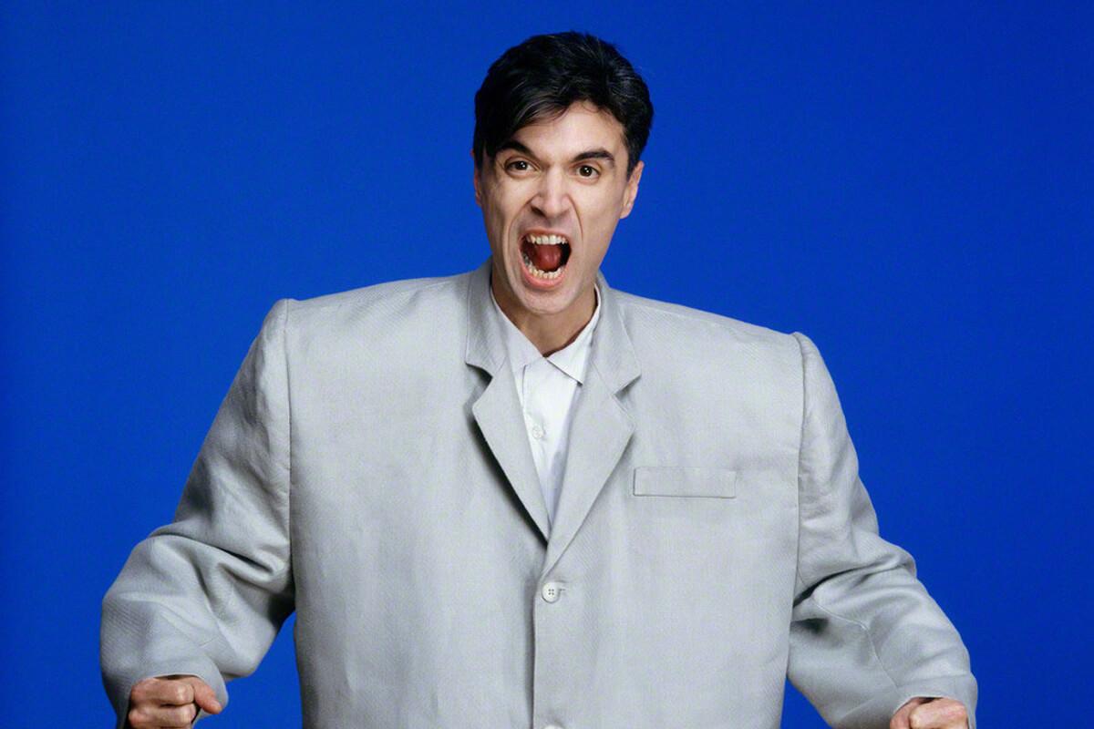 David Byrne Talking Heads