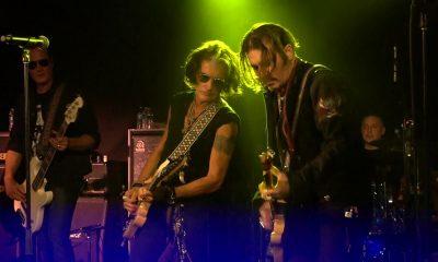Joe Perry and Johnny Depp