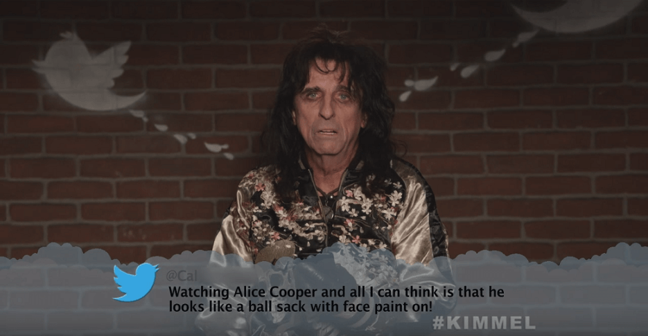 Alice Cooper on Jimmy Kimmel