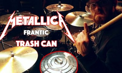 """Canadian drummer plays Metallica's """"Frantic"""" in a garbage can"""