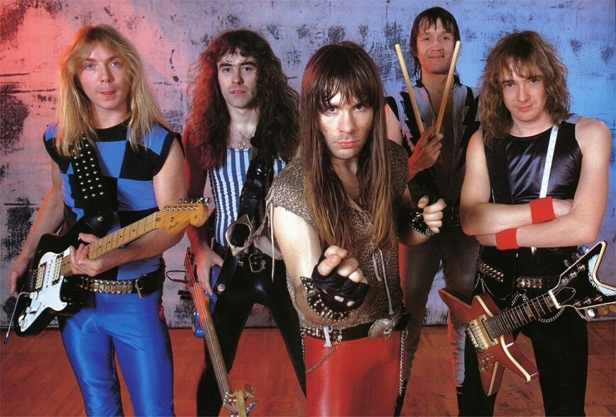 Iron Maiden in the 80s