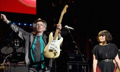 Keith Richards on Love Rocks NYC